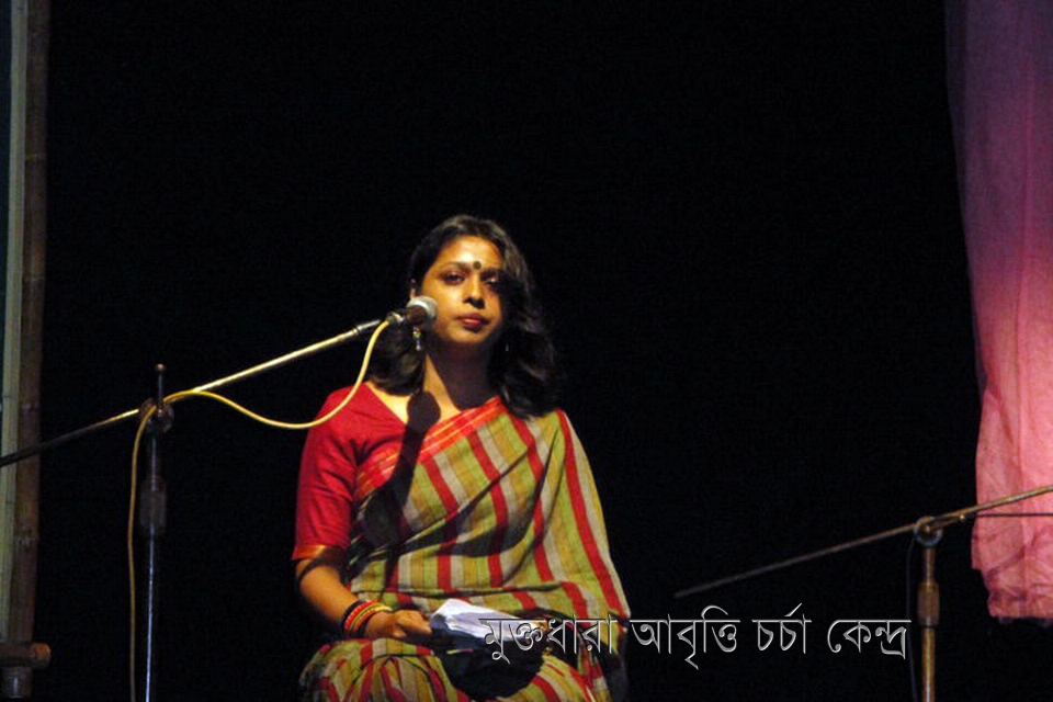 Nasima Khan Bakul at Stage